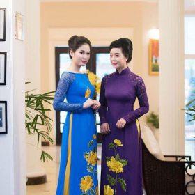 Cách chọn may áo dài cho mẹ cô dâu, chú rể vào ngày cưới năm 2019